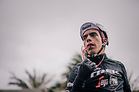 Jarlinson Pantano (COL/Trek-Segafredo) post-race<br /> <br /> 76th Paris-Nice 2018<br /> Stage 8: Nice > Nice (110km)