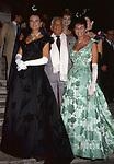 PAMELA ALVIN, LEONARD BERNSTEIN E BENEDETTA MONCASA<br /> PREMIO CONDOTTI - SCALINATA TRINITA' DEI MONTI ROMA 1987