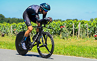 17th July 2021, St Emilian, Bordeaux, France;  NIEUWENHUIS Joris (NED) of TEAM DSM during stage 20 of the 108th edition of the 2021 Tour de France cycling race, an individual time trial stage of 30,8 kms between Libourne and Saint-Emilion.