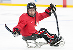Brad Bowden, Sochi 2014 - Para Ice Hockey // Para-hockey sur glace.<br />