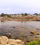 Monterey and Pacific Grove, California famous waterfront promenade.  Walk the waterfront and take a rest along the parks at Pacific Grove.