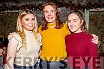 Aisling, Ciara and Jemma Kearney from Castleisland enjoying Little Women's Christmas in Cassidys on Sunday.