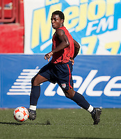 Joseph Gyau training before the 2009 CONCACAF Under-17 Championship From April 21-May 2 in Tijuana, Mexico