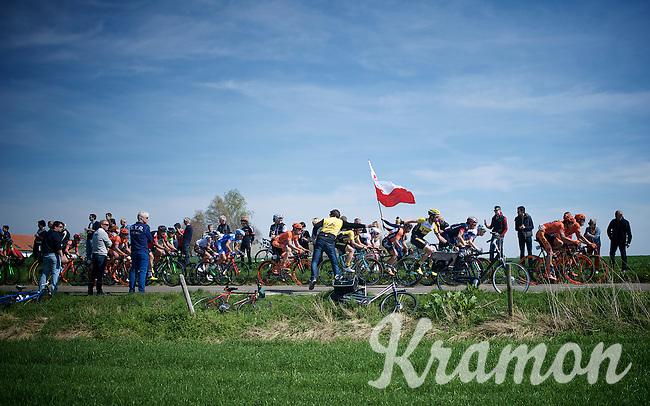 peloton driveby<br /> <br /> 50th Amstel Gold Race 2015