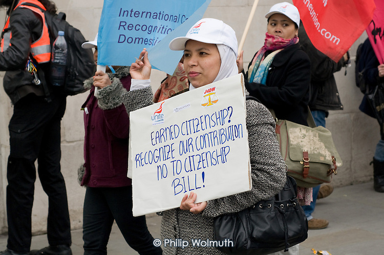 Mothers March to mark International Women's Day and Mother's Day, London, organised by the All African Women's Group Mothers' Campaign, Global Women's Strike and Single Mothers' Self-Defence.