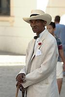 """Cuba, Habana,  Plaza de la Catedral, """"Fotomodelle"""""""