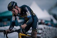Toon Aerts (BEL/Telenet Fidea Lions)<br /> <br /> men's race<br /> Soudal Jaarmarktcross Niel 2018 (BEL)