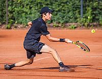 Hilversum, Netherlands, August 5, 2021, Tulip Tennis center, National Junior Tennis Championships 16 and 18 years, NJK, Boys single 18 years Alfrendo Vogelaar (NED)<br /> Photo: Tennisimages/Henk Koster