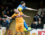 Motherwell v St Johnstone…18.03.17     SPFL    Fir Park<br />Steven Hammill and Blair Alston<br />Picture by Graeme Hart.<br />Copyright Perthshire Picture Agency<br />Tel: 01738 623350  Mobile: 07990 594431