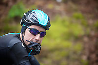 nr 13 Bernie Eisel (AUT) getting new (dry) gloves<br /> <br /> 2013 Tour of Britain<br /> stage 5: Machynlleth to Caerphilly (177km)