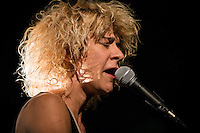 Marie-Jo Therio perform at <br /> the  Festival en Chanson of Petite-Vallee in Gaspesia on July 5,2014. He was joined at the end by Robert Charlebois.<br /> <br /> Photo : Agence Quebec Presse  - Frederic SeguinMarie-Jo Therio perform at <br /> the  Festival en Chanson of Petite-Vallee in Gaspesia on July 5,2014.<br /> <br /> Photo : Agence Quebec Presse  - Frederic Seguin