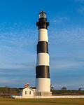 Cape Hatteras National Seashore, North Carolina: Bodie Island lighthouse (1872) on North Carolina's Outer Banks