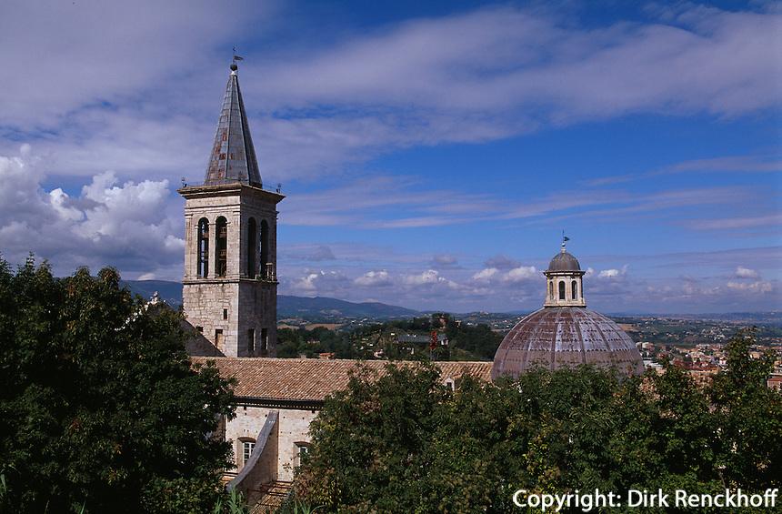 Italien, Umbrien, Dom Santa Maria Asunta in Spoleto