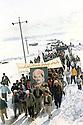 Iran 1985.Kurds of KDP celebrating the anniversary of the 11th of march agreement near Ziweh  Iran 1985. Kurdes du PDK celebrant l'anniversaire de l'accord du 11 mars