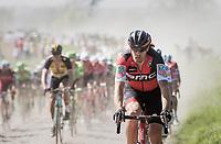 Daniel Oss (ITA/BMC)<br /> <br /> 115th Paris-Roubaix 2017 (1.UWT)<br /> One Day Race: Compiègne › Roubaix (257km)
