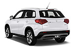 Car pictures of rear three quarter view of a 2019 Suzuki Vitara Grand Luxe Xtra 5 Door SUV angular rear