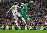 Real Madrid CF's Luka Modric Real Sociedad's Ander Barrenetxea competes for the ball during quarterfinal Copa del Rey match. Feb 06, 2020. (ALTERPHOTOS/Manu R.B.)