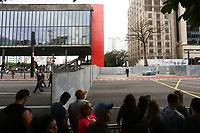 01.09.2019 - Gravação de filme indertida a av Paulista em SP