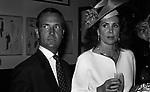 CARLO BUOZZI E MARINA RIPA DI MEANA<br /> FESTA ENRICO COVERI AL TOULA' <br /> MILANO 1989