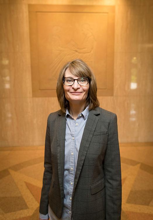Jennifer Patterson recently became the new Oregon State Librarian.<br /> Photo by Jaime Valdez