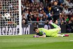 Real Madrid´s Iker Casillas during Champions League soccer match at Santiago Bernabeu stadium in Madrid, Spain. March, 10, 2015. (ALTERPHOTOS/Caro Marin)