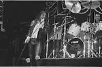 Ian Astbury & Les Warner of The Cult in 1987.
