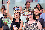 at the 155th Queen's Plate at Woodbine Race Course in Toronto, Canada on July 06, 2014.