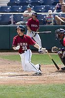 July 6, 2008: The Yakima Bears' Greg Bordes at-bat during a Northwest League game against the Everett AquaSox at Everett Memorial Stadium in Everett, Washington.