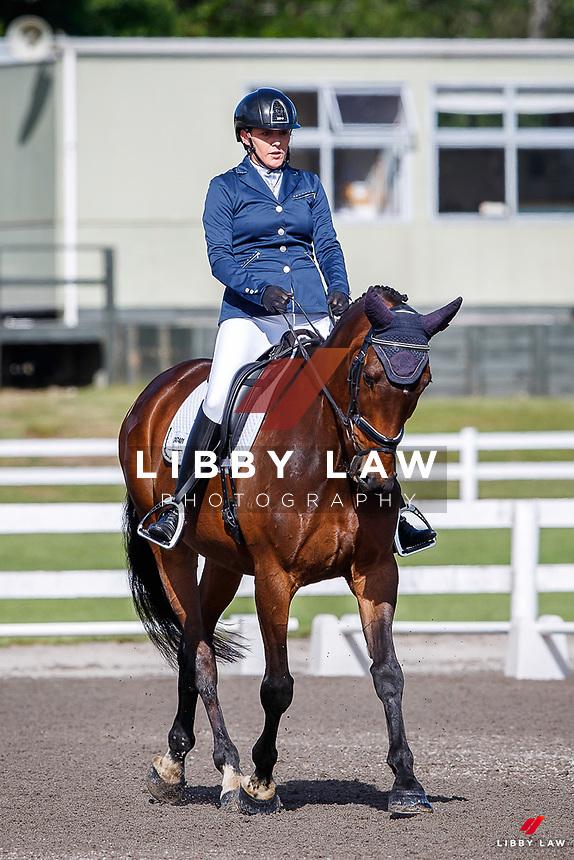 NZL-Jess Allsop rides Regal Salvation. 2020 NZL-Bates Saddles NZ Dressage Championships. NEC Taupo. Thursday 19 November 2020. Copyright Photo: Libby Law Photography