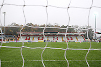 General view of the ground during Stevenage vs Yeovil Town, Sky Bet EFL League 2 Football at the Lamex Stadium on 12th November 2016
