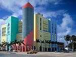 USA, Florida, Miami-Beach: art-deco-Viertel at Washington Avenue | USA, Florida, Miami-Beach: art-deco-district at Washington Avenue