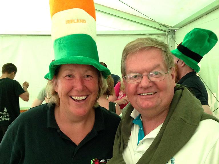 Maeve Donnelly (McNally) and Trevor Millar courtesy Elaine Taylor