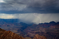 Lightning, storm, storm chasing, storm chaser, Arizona, weather, clouds, desert, mountains, rain, monsoon, Grand Canyon, national park