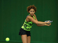 Almere, Netherlands, December 6, 2015, Winter Youth Circuit, Noa Liauw-A-Fong (NED)<br /> Photo: Tennisimages/Henk Koster
