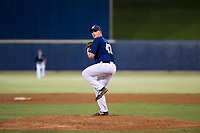 AZL Brewers relief pitcher Christian Taugner (47) delivers a pitch to the plate against the AZL Cubs on August 24, 2017 at Maryvale Baseball Park in Phoenix, Arizona. AZL Cubs defeated the AZL Brewers 9-1. (Zachary Lucy/Four Seam Images)