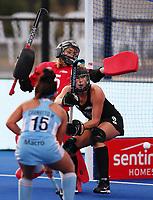Brooke Neal during the Pro League Hockey match between the Blacksticks women and Argentina, Nga Punawai, Christchurch, New Zealand, Sunday 1 March 2020. Photo: Simon Watts/www.bwmedia.co.nz