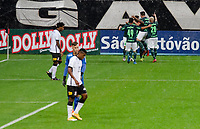 São Paulo (SP), 03/03/2021 - CORINTHIANS-PALMEIRAS - Lucas Lima, comemora o gol do Palmeiras. Corinthians e Palmeiras partida válida pela 2ª rodada do Campeonato Paulista 2021, na Neo Química Arena, quarta-feira (03).