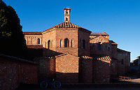 Italien, Lombardei, Baptisterium San Giovanni und Santa Maria Maggiore in Lomello