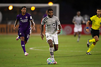 LAKE BUENA VISTA, FL - JULY 25:  during a game between Montreal Impact and Orlando City SC at ESPN Wide World of Sports on July 25, 2020 in Lake Buena Vista, Florida.