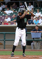 August 30, 2003:  Kevin Howard of the Dayton Dragons, Class-A affiliate of the Cincinnati Reds, during a Midwest League game at Fifth Third Field in Dayton, OH.  Photo by:  Mike Janes/Four Seam Images