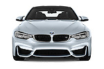 Car photography straight front view of a 2016 BMW M4 2 Door Coupe Front View