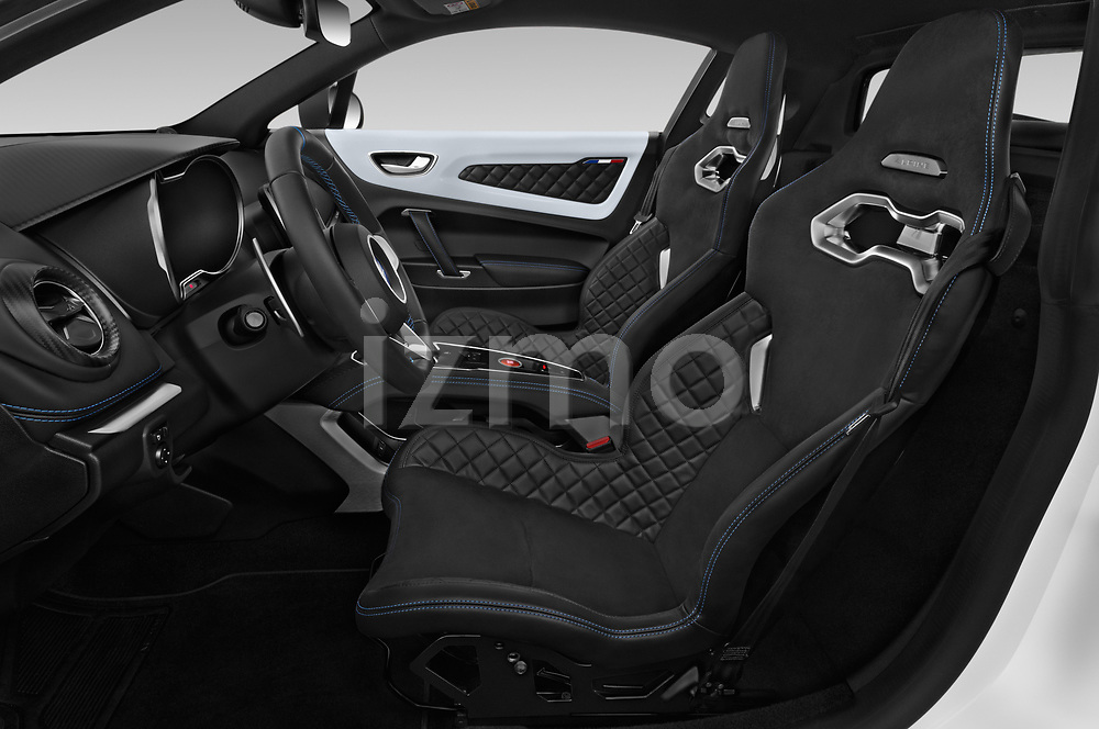 Front seat view of 2019 Alpine A110 Pure 2 Door Coupe