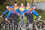 CYCLIST: At the launch of Kerry Earl of Desmond Cycling Team for 2007 FBD RAS, l-r: Thomas O'Flaherty, David Brennan, Miceal Concannon, Michael Butler and Cian Hogan. .
