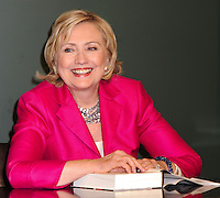 NEW YORK CITY, NY, USA - JUNE 10: Former US Secretary of State Hillary Rodham Clinton promotes her memoir book 'Hard Choices' at Barnes & Noble Union Square on June 10, 2014 in New York City, New York, United States. (Photo by Celebrity Monitor)