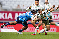 14th March 2021; Eden Park, Auckland, New Zealand;  Highlanders halfback Aaron Smith - during the Super Rugby Aotearoa rugby match between the Blues and the Highlanders held at Eden Park, Auckland, New Zealand.