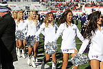 December 30, 2016: TCU showgirls performing at halftime of the AutoZone Liberty Bowl inside Liberty Bowl Memorial Stadium in Memphis, Tennessee. ©Justin Manning/Eclipse Sportswire/Cal Sport Media