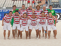 USMNT Beach Soccer vs. Spain, Thursday September 18, 2013