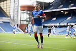 25.07.2020 Rangers v Coventry City: James Tavernier with an empty Ibrox
