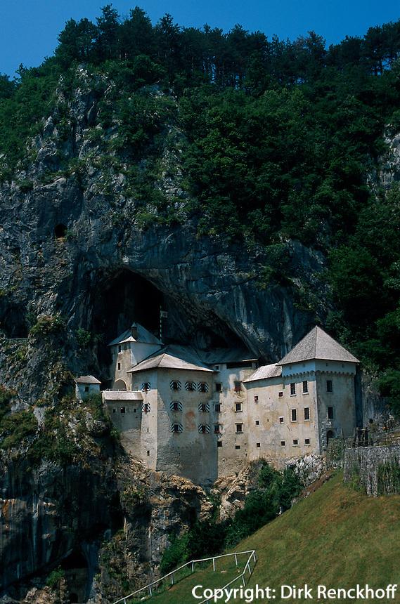 Slowenien, Burg Predjamski Grad