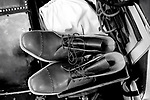 Schuhe von George Cleverley <br /> <br /> Engl.: Europe, England, Great Britain, London, shoes handmade by George Cleverly, handicraft, tradition, shoemaker, June 2013